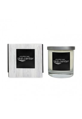 Premium High End 11 Oz Candle with Modern Wood Wrap - PHE