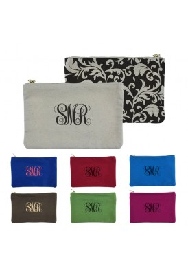 Designer Canvas Patterned Pouches