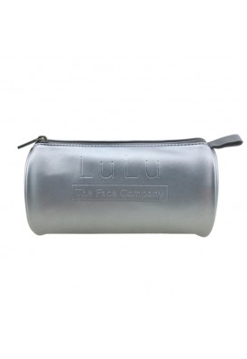 Metallic Silver or Gold Premium Leatherette Barrel Bag