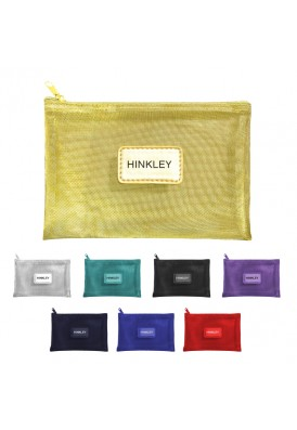 Colored or Metallic Mesh Pouches