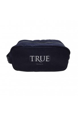 Denim Travel Amenities Dopp Kit
