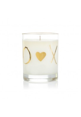 10 Oz Premium Wholesale Gold Allover Candle - PWC