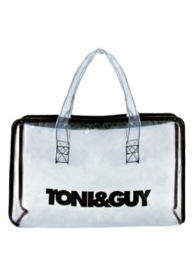 Clear Vinyl Top Zippered Rectangular Bag 11x7x4