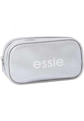 Faux Leather Rounded Cosmetic Bag