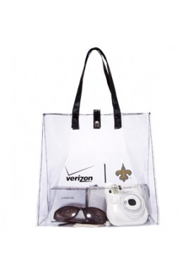 Clear Stadium Approved Shoulder Tote