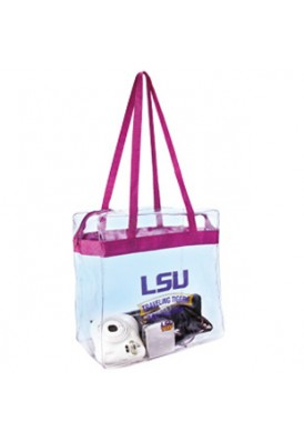Clear Stadium Approved Shoulder Tote II