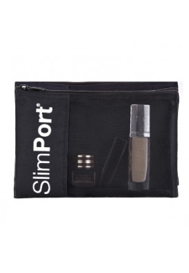 PolyCanvas with Mesh Front Zippered Cosmetics Pouch