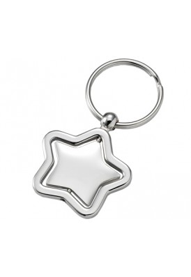 Swivel Star Key Chain