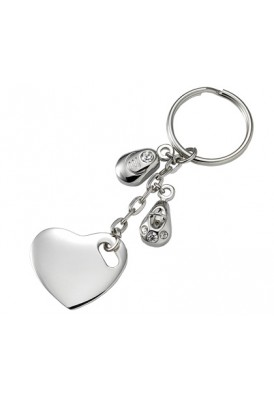 Charmed Heart Key Chain
