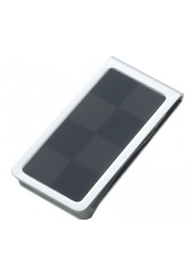 Charcoal Checkered Money Clip