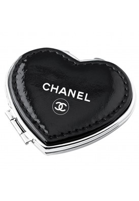 Leatherette Heart Mirror