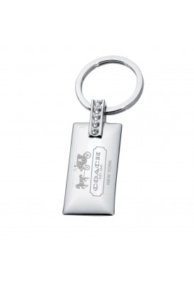 Jeweled Key Chain Rectangular