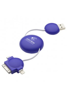 Retractable Universal USB Charger