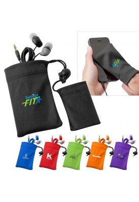 Color Bright Earbuds Pouch