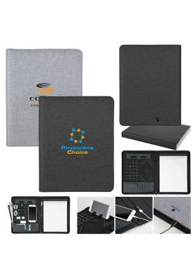 Uber Modern Designer Tech Portfolio with Powerbank