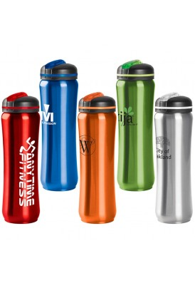 28 Oz. Easy Grip Stainless Steel Water Bottle