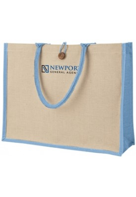 Jute Super Shopper Rope Tote