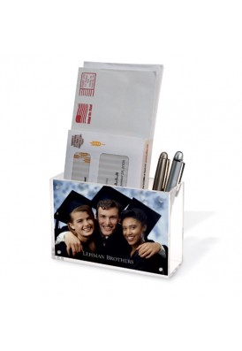 Acrylic Container and 4 x 6 Photo Frame