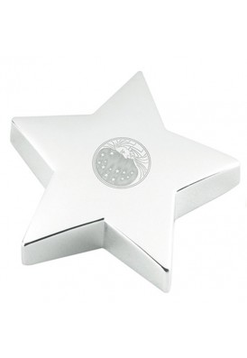 Superstar Silver Paperweight
