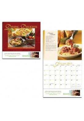 13 Month Dining Delights Calendar