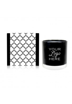 11 Oz Black Moroccan Candle Gift - QHE (Quality High End)