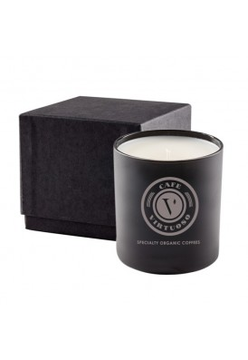 Premium High End 11Oz Black Candle in 2 Pc Gift Box - PHE