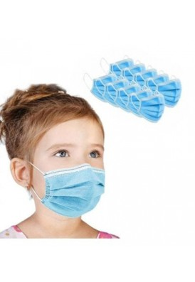 Disposable 3-Ply Protective Face Mask for Kids