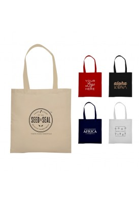 12 Oz Heavyweight Durable Canvas Promotional Magazine Tote