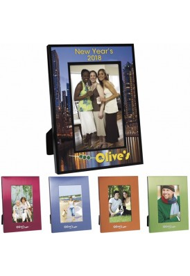 Color Bright Aluminum Photo Frame 4x6