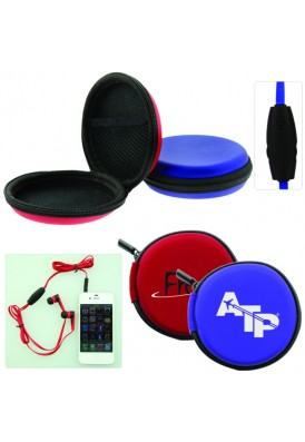 Neat-Pack Ear Buds in Zippered Case