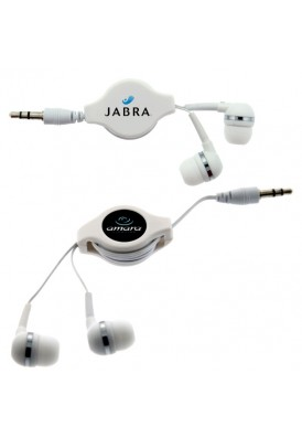 Neat-Pack Retractable Ear Buds