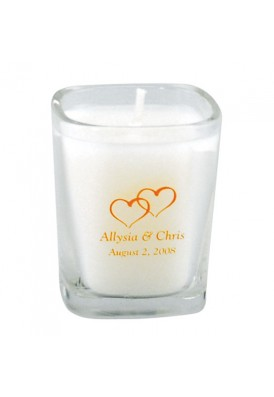 2.5 Oz Square Glass Candle - VLUE (Value)