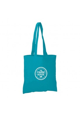 Colored Flat Economy Tote