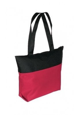Two-Tone Expo Tote with Zipper