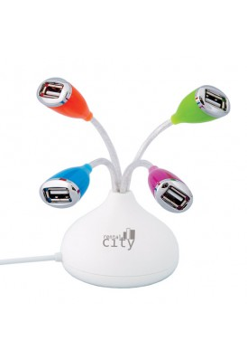 Colorplay Desktop Flower Power 2.0 USB Port Hub