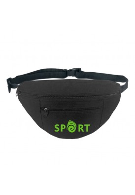 Basic Black Fanny Pack