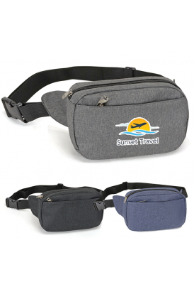 Stephan Fanny Pack with Front Pocket Feature