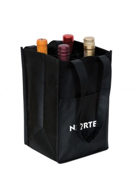 PolyPro 4 Bottle Wine Bag