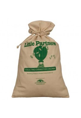 Jumbo Extra Large 10 Oz Canvas Drawstring 12x19