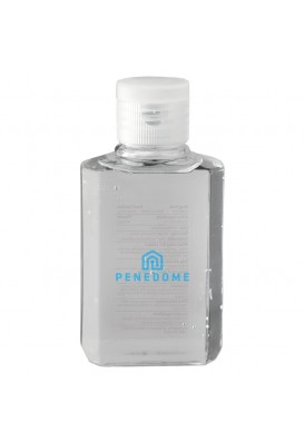 2 Oz Hand Sanitizer Gel Bottle 75% Alcohol with Screenprinted Logo