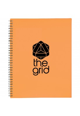 Color Play Spiral Notebook Large 11.5 x 10