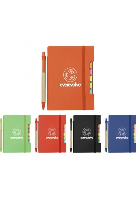 Very Cool Sticky Flags Notebook with Pen Size 4x6