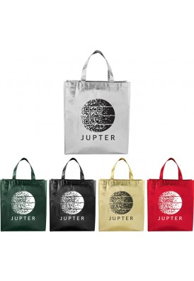 Metallic Laminated Non Woven Tote Bag