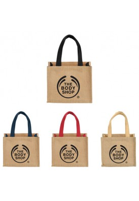 Reusable Durable Jute Gift Bag Small