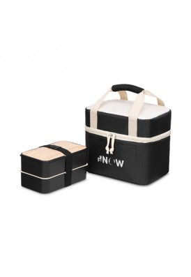 Modern Box Style Cooler Tote