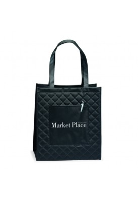 Modern Quilted Style Laminated NonWoven Tote II