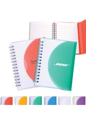 5x4 Spiral Bound Flexible Color Notebook Medium
