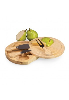 Universal Swivel-Closing Cheese Board with Tools Set