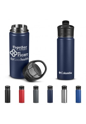 Columbia®18 Oz Stainless Steel Double-Wall Vacuum Bottle