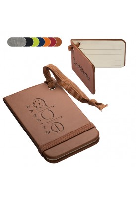 Soft Leatherette Luggage Tag